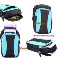 Climbing Bag Outdoor Sport Phone Case Mobile Phone Case Card Case Belt Clip Case For Samsung Galaxy Mega 2 G750F