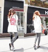 women  trousers new lady  skinny pencil pants  zebra-stripe  XT_003498  free shipping
