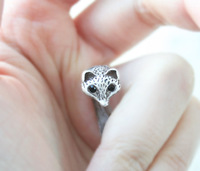 Wholesale Vintage Animal Fox Ring, Adjustable Everyday Ring,Brass Knuckle Ring- Free Shipping