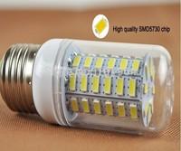 E27 E14 B22 Led Bulb light Spotlight 5730SMD 360 degrees LED corn Bulb Lamp 220V Cold Warm White 5pcs/lot