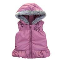 new 2014 autumn winter girls vest kids clothes infant waistcoat OUTERWEAR child hooded cotton vests children jackets baby coat