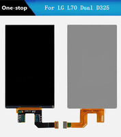 LCD Screen Display Repair Part Replacement for LG L70 Dual D325 D320 Free Shipping!(Black)