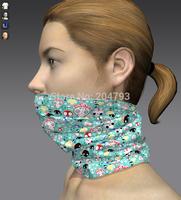 multi wear skull tube  magic bandana for women