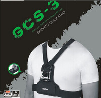 NEOpine Gopro Accessories Shoulder Strap Chest Gopro Mount Adjustable For Gopro HD Gopro Hero 3 3+ 2 1 free shipping