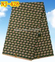 African wax Batik fabric 100% cotton prints wax 6 yards per lot NJ-428
