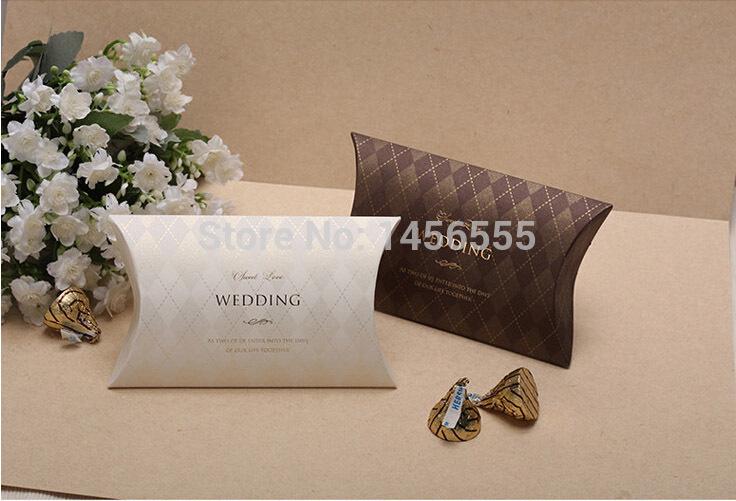 100pcs/Lot Wedding Favors Box Paper 7.5*12.5cm Screen Printing Uneven Handmade Creativity Luxury Wedding Candy Boxes(China (Mainland))