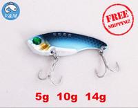 2014 Hot Selling 5g 10g 14g Blade Lure VIBE Lure VIB Fishing Lure