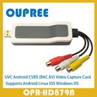 OPR-HD879N UVC USB CVBS ( AV, RCA) Video Capture Card for Android, Window, Linux, iOS