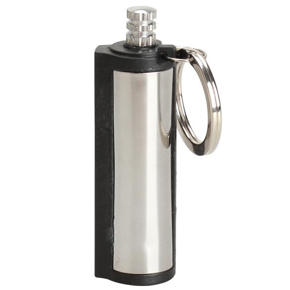 New Design Emergency Fire Starter Flint Match Lighter Cylinder Outdoor Survival Tool NVIE(China (Mainland))