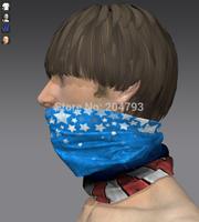 Custom usa flag pattern tude magic  headband