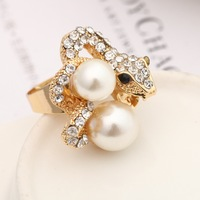 Top Sale Metal Mood Ring Women Fashion Adjustable Zinc Alloy Engagement Classic Bijoux Nail Ring