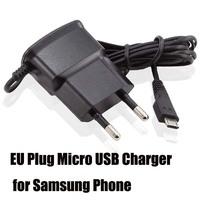Hot Sale micro USB Charger Universal USB Wall Charger Mobile Phone Charger for Samsung Galaxy S4 S3 S2 i9300 i9100 EU Plug