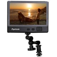 Aputure VS-2 Kit V-Screen 7 inch IPS Screen LCD Video Field Monitor Speaker , Support HDMI / YPbPr / AV Input