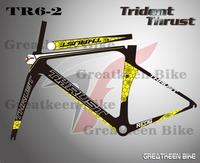 Trident Thrust TR6-2 carbon fiber bike carbon bike china carbon road frame mountain bike bicycle frameset cycling seatpost clamp