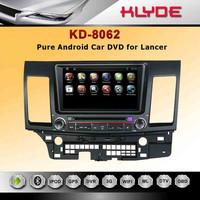 Lancer car radio DVD GPS autoradio sat nav with 3G WIFI RDS FM transmitter