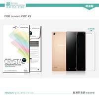 2PCS 100% Nillkin LCD CRYSTAL Anti - fingerprint Screen protector film for LENOVO VIBE X2 ,Free shipping