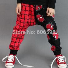 2014 Super Spider-man Kids Girls Boys Harem Pants Trousers Cloth(China (Mainland))