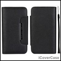 Detachable Magent Wallet Leather Case for iPhone 6 Plus