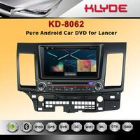 Hot 8inch OUTLANDER/LANCER Car DVD GPS Player Navigation Radio Audio Bluetooth A2DP Steering Wheel Control