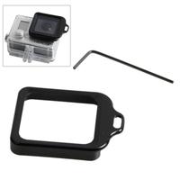 Hot Sale Multi-Colors Lens Replacement Kit Aluminum Lanyard Ring Mount & Screw Driver for Gopro Hero 3+ Black Free Shipping