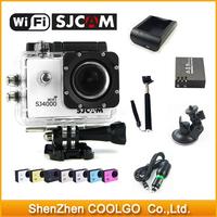 Original SJCAM WiFi Version SJ4000 1080P Full HD GoPro Camera Style Extreme Sport DV Action Camera Diving 30M Waterproof