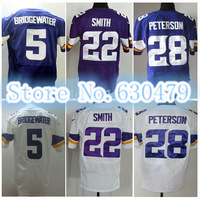 Free Shipping - Cheap Elite Stitched Jersey #5 Teddy Bridgewater #22 Harrison Smith American Football Jersey