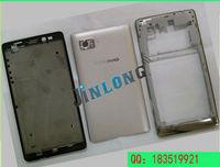 Full Housing Back Battery Cover Door Frame For Lenovo VIBE Z K910 White Replacement Tools + Tracking