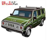 Cubic Fun children models super sports car tire model simulation window DIY car toys