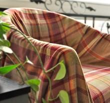 100% aus baumwolle england plaid sofa Decke( Handtuch) rot karierten serviette zurück sofa bettdecken europäischen Klavier tuch tischdecken(China (Mainland))