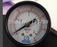 Free Shipping Y-40Z Pressure Gauge Meter Manometer Back connection 0-2kg/cm2 (0-30PSI)