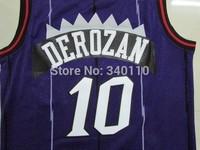 Toronto Demar Derozan #10 Basketball Jersey 2014 Cheap Men's retro Jerseys Free Shipping