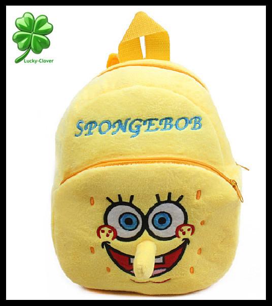 Школьный рюкзак Lucky-Clover 1/2 Spongebob 3D mochilas CB0026 spongebob squarepants pvc anime figures 8 figure set