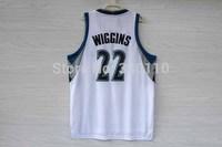 Minnesota #22 Andrew Wiggins Basketball Jersey New material retro fans version Jerseys Free Shipping