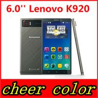 Original Lenovo k920 Vibe Z2 Pro Snapdragon 801 3GB RAM 32GB Smart phone 6.0 dual sim 4G LTE/WCDMA 3G GPS WIFI Android 4.4