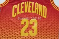 Free Shipping LeBron James Cleveland Fashion Resonance Jersey 23 Wholesale Cheap Basketball Jerseys Cavs Stitched Shirt Uniforms