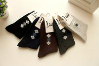 5 pairs/lot Man Socks Men's Winter Warm Woolen Socks Thickening Fashion Brand Stockings For Hot Selling