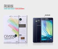 2PCS 100% Nillkin LCD CRYSTAL Anti - fingerprint Screen protector film for Samsung Galaxy A5 A5000 ,Free shipping