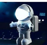 Astronauts USB creative small night light reading lamp lamps | | notebook computer keyboard leds