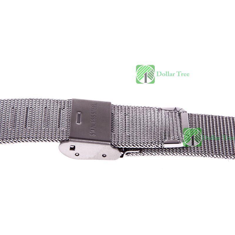 Dollartree profissional! Novo relógio do aço inoxidável malha pulseira pulseiras nova banda artesanato perfeito(China (Mainland))