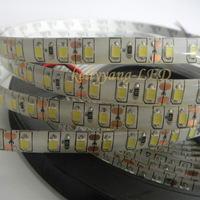 New 16.4FT 5M 2835 SMD DC12V 120leds/M White IP65 Waterproof Soft Fairy Led Strip Light with tracking number