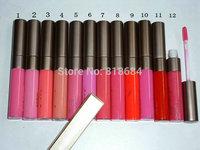12PCS New High Quality Brand Makeup Cosmetic NK 3 Lip Gloss 12-Colors Moisture Lasting Lip Gloss 10ml! Free Shipping