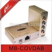 Free shipping,Passive Audio Balun,VGA extender,AV extender,480i/p Video up to 1,000ft via Cat5e/6,No Power required,Built-in TVS