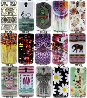 Dreamcatcher Butterfly Flower Dot Boat Anchor Soft TPU Case For Samsung Galaxy Note3 / Note4 Fashion Back Skin Cover 100pcs