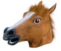 Christmas Mask Animal Mask 2014 Horse Creepy Halloween costume mask Head Theatre Prop Novelty rubber latex mask horse