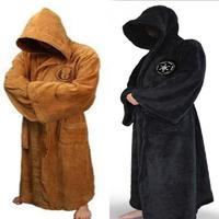 Jedi Bathrobe Star Wars Knight Bath Robe Cosplay Costume long coats