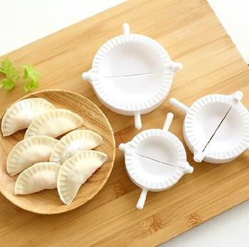 3pcs Press Ravioli Dough Pastry Pie Dumpling Maker Gyoza Empanada Mold Mould Tool 3 Size Easy Eco Friendly Dumpling Mould