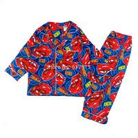 New 2014 Fall Winter boys clothing sets cartoon flannel boys pyjamas kids Christmas cotton baby pajamas brand children pajamas