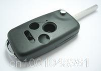 Remote Flip Folding Key Shell Fob Keyless Case Cover Fit For Honda Accord CR-V Pilot Fit