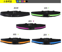 Waterproof Running bicycle ride fitting Elasticity Movement Waist Bag Jogging Sports outside phone Bag 1127