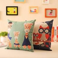 Cartoon animal cartoons fresh fluid sofa cushion pillow car cushion kaozhen cushion